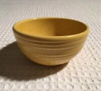 vintage McCoy USA 1950s Bee Hive Ringware Small Speckled Yellow 6