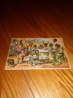 RARE 1800's Black Americana Trade Card for