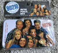 Vintage 90210 Pencil Box/Metal Tin Luke Perry Beverly Hills Jason Priestley
