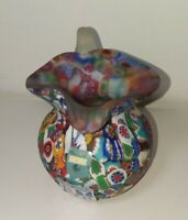 MURANO Art Glass CREAMER PITCHER FRATELLI TOSO Closely PACKED Millefiori