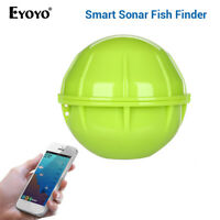 Eyoyo Bluetooth Wireless Sonar Fish Finder APP With Fish Alarm for Boat Fishing