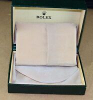Rolex watch box  Box only with interior packaging