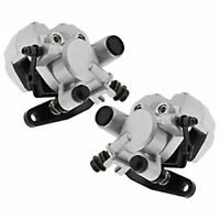 Front Brake Caliper Set For Yamaha Bear Tracker 250 Raptor 350 660 Warrior 350
