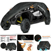 NEVERLAND ATV Utility Vehicle Cover 2 Row Seats Fits Can-Am Maverick X3 Max R