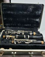 BUNDY CLARINET RESONITE SELMER WITH CASE with Somewhat New Pads