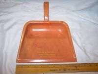 Vintage WERNER MOTOR CO Indiana's Ford Dealer Plastic Dust Pan TELL CITY Lot C