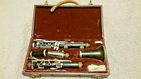 Vintage A. Fontaine Clarinet  Serial 45031 Made in France Complete Decent Used
