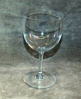 BACCARAT CRYSTAL WATER GLASS, MONTAIGNE NON-OPTIC PATTERN, FRANCE