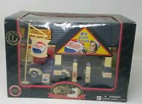 Roadside Memories Pepsi-Cola Gas Station 1940 Die Cast Ford Truck Replica 1:32