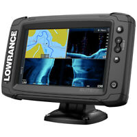 Lowrance Elite 7 Ti2 Fish Finder Chartplotter with HDI Transducer 000-14635-001
