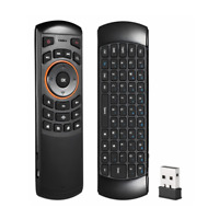 Universal TV Remote Control w QWERTY Keyboard amp; 6 Axis Air Mouse Android PC $11.99