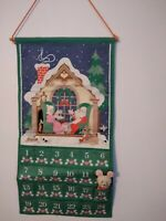 Vintage~1987~ AVON COUNTDOWN  to CHRISTMAS ADVENT CALENDAR~WITH MOUSE