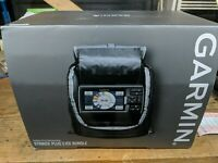 Garmin Striker Plus 5 Ice Bundle Fish Finder with ice fishing accessories new