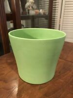 SCHEURICH Keramik Mid Century German Pottery Green Planter Pot 808-19 Vintage