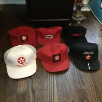 Collection 6 Texaco Vintage Hat