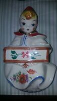 Vintage Hull Little Red Riding Hood Wall Pocket