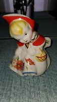 Hull Little Red Riding Hood Creamer Pitcher Vintage Nice