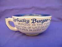 RARE KENTUCKY DERBY BURGOO RECIPE SOUP MUG LOUISVILLE STONEWARE POTTERY 1981