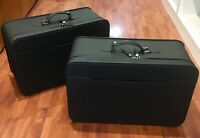 FERRARI CALIFORNIA ORIGINAL LEATHER SUITCASES BAGS LUGGAGES SET SCHEDONI CUOIO