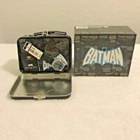 Fossil Batman Watch and Tin Lunchbox Set NEW IN BOX