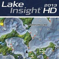 Lowrance Lake Insight Map 2013 Card Chip works for HDS, Elite, and Mark