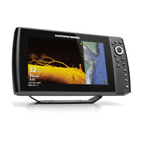 Humminbird HELIX 10 CHIRP MEGA SI Fishfinder GPS G3N with Transducer 410890-1