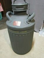 ANTIQUE/VINTAGE ELLISCO RIBBED scarce  (10)  GALLON FUEL/OIL CAN