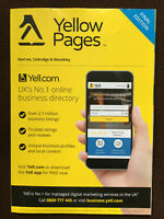 HARROW UXBRIDGE amp; WEMBLEY LONDON Yellow Pages Directory FINAL EDITION small