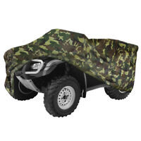 Camouflage XXXL Waterproof ATV Cover 4x4 For Kawasaki Brute Force 300 650 750