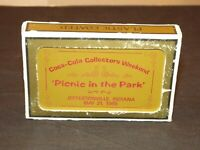 1988 Coca Cola Playing Cards Picnic In The Park Collector's Weekend 31/144 Mint
