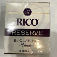New Old Stock Rico Reserve Classic Size 4+ Bb Clarinet Reeds