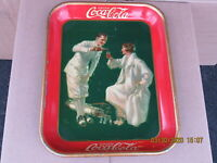 COCA COLA COKE SERVING TRAY 1926 EXC ORIG GOLFERS AMERICAN ART WORKS NOT A REPRO