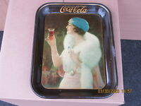 COCA COLA COKE TRAY 1925 ORIG GIRL AT PARTY AMERICAN ART WORKS NOT 1973 REPRO