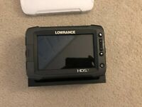 Lowrance HDS 7 GEN 2 Touch - Cover & Gimbal Bracket/Knobs Included - Works Great