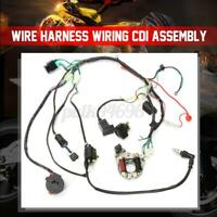 50cc-125cc Cdi Wire Harness Stator Assembly Wiring 5 Pin For Atv Electric Quad