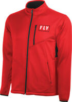 Fly Racing Mens Red Dirt Bike Mid Layer Jacket MX ATV 2020