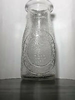 Vintage Dairy Milk Bottle by Heritage Company 1 2 Pint Glass Since 1810