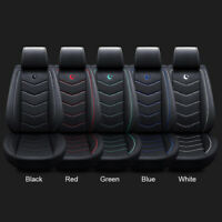 Universal Auto Car Standard PU Leather 5-Seat Seat Covers Cushion Front+Rear Kit
