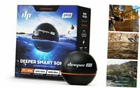 Deeper PRO Smart Portable Sonar - Wireless Wi-Fi Fish Finder for Kayak and Ice