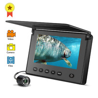 LUCKY Portable Underwater Fishing&Inspection Camera Night vision Camera 4.3 Inch