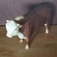 Vintage Polled Hereford Bull Traditional Breyer Scale # 74 Nice Condition