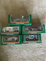 2010-2014 Miniature Hess Collection - Airplane, Racers, Fire, Heli, SportUtility