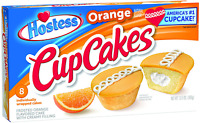 Hostess Cupcakes Orange 8 Count Pack of 6