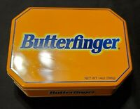 Vintage Butterfinger Candy Tin Container Nestle Advertising