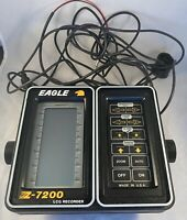 Eagle Z-7200 Vintage LCG Recorder Fish Finder Locator Untested As-Is