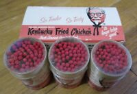 Vintage Kentucky Fried Chicken Matchstick Buckets in Box NICE Condition Un-used