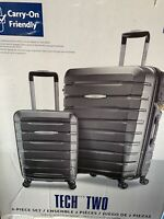 Samsonite TECH TWO 2-Piece Hardside Luggage Set Gray (27