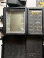 Hummingbird LCR 3004 Portable Fish Finder With Transducer With Manual Untested