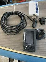 Lowrance Elite-4chirp Color Sonar & Downscan fishfinder & chartplotter
