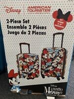 Disney Minnie Mouse 2 Piece Luggage Set Carry On